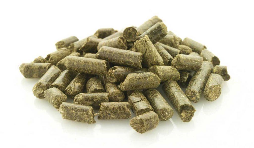 grass-pellets